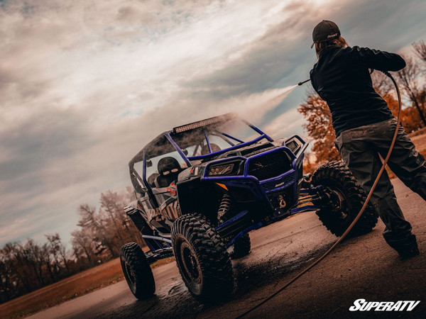 Can Am Offroad Foam Cannon Makes Cleanup by SuperATV