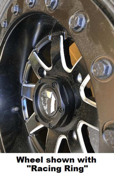 Can Am Maverick D928 Matte Black Beadlock Wheels with Fuel Gripper T | R | K Tires