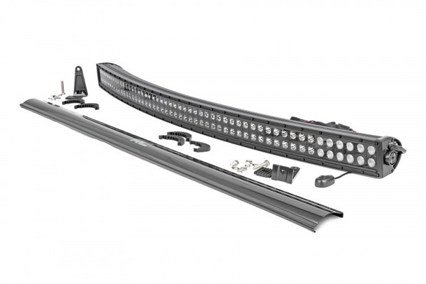"""Can-Am Commander / Maverick / Defender 50"""" Dual Row Curved CREE LED Light Bar (Black Series) by Rough Country"""