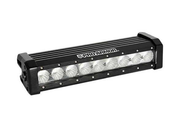 """Can-Am 11"""" Flood LED Light Bar Single Row by Pro Armor"""