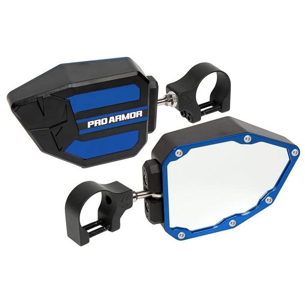 """Can Am Side View Mirrors 2"""" Clamp by Pro Armor"""