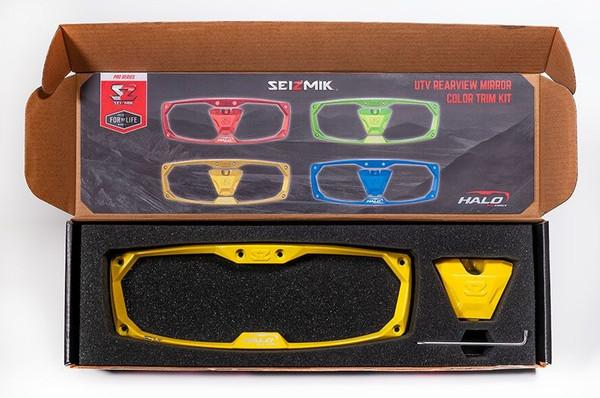 Can-Am Halo RA Series Cast Yellow Aluminum Trim Kit by Seizmik