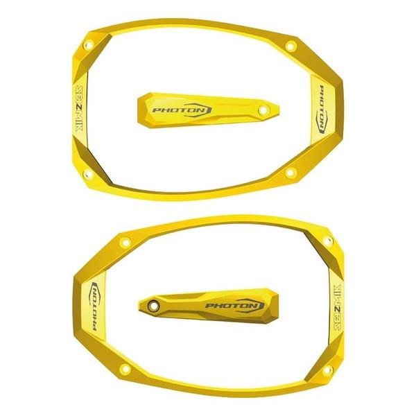 Can-Am Photon Series Cast Aluminum Yellow Color Bezel & Cap Kit by Seizmik