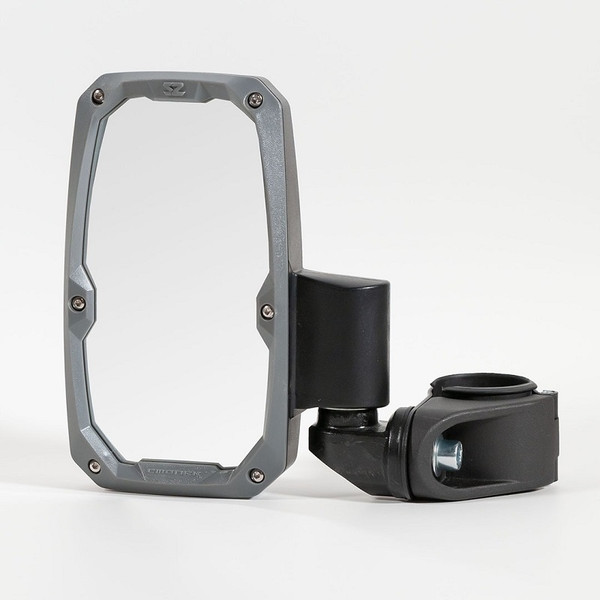 Can-Am Commander / Maverick / Defender Embark Side View Mirror with ABS Body & Bezel – 2″ or 1.875″ Round Tube Pair by Seizmik