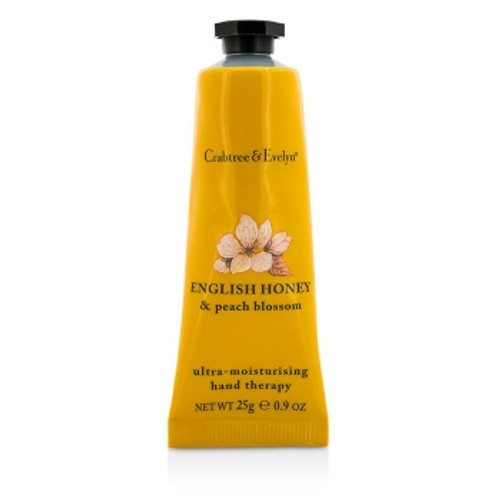 Crabtree's award-winning shea butter hand cream with lavender oil leaves your hands feeling incredibly smooth and soft.  Award winning shea butter hand cream Soothes Conditions Moisturizes Scent: The clean, fresh scent of English Honey & Peach Blossom