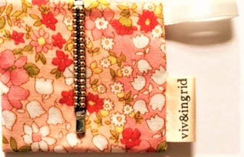 """1.75"""" (4.445 cm) long bobby pin (sold individually as pictured here)  Two rows of hand wrapped metallic beads Each bobby pin comes with signature fabric jewelry pouch, perfect for storage, travel and gift giving! By Viv & Ingrid"""