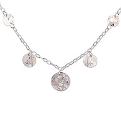 Holly Yashi Ella Necklace (Silver)