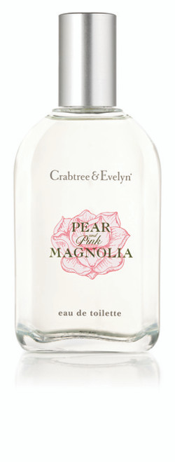 Crabtree & Evelyn Pear & Pink Magnolia EDT Cologne Traveller