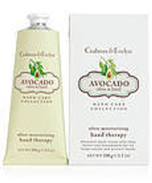 Crabtree & Evelyn Avocado Olive and Basil Hand Therapy 3.5 oz.