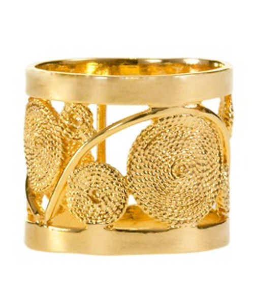 "Buji Bijoux ""Lover Man"" Wide Ring"