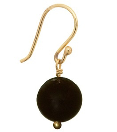 Buji Bijoux Black Onyx Earrings