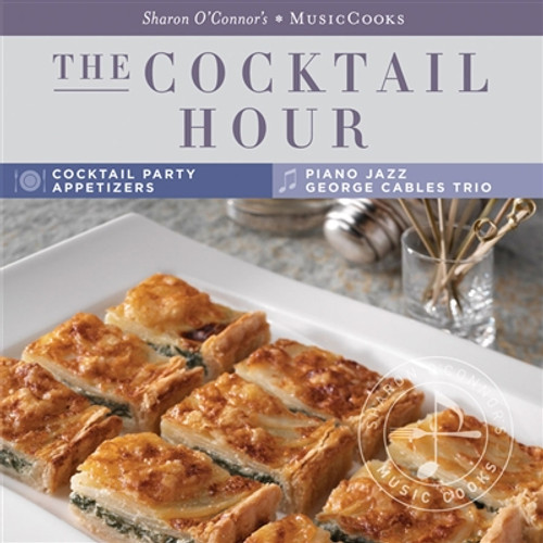 Make an elegant impression at your next cocktail party, or bring as a stylish hostess gift!  Sharon O'Connor brings you favorite cocktail party recipes for appetizers, cocktails, and bite-size sweets. You'll also find tips for hosting a cocktail party.  Set the mood for a fabulous evening with sensational jazz classics including On Green Dolphin Street, Isn't She Lovely, Autumn in New York, and more! Performed by George Cables, Peter Barshay, and Lewis Nash.  The easy to clean, sturdy recipe cards—featuring an inspiring food photo of each dish, cook's tips, and shopping lists—travel conveniently from the kitchen to the grocery store.   16 Recipe Cards •Parmesan Cheese Crisps •Edamame Spread •Citrus-Marinated Olives •Four Seasonal Cocktails •Cocktail Walnuts •Bette Davis Eyes •Fresh Vegetable Platter •Smoked Salmon Sushi Rice Balls •Sherried Mushroom Caps •Baked Goat Cheese and Leek Tart •Spinach Crepe Spirals •Grilled Shrimp with Peanut Dipping Sauce •Golden Gruyere and Potato Quiche •Swedish Meatballs •Chocolate Truffles •Jellied Espresso   Music CD 1.On Green Dolphin Street 2.Three Views of a Secret 3.Isn't She Lovely 4.Night and Day 5.Skylark 6.How Insensitive 7.All or Nothing at All 8.I Thought About You 9.Helen's Song 10.For Heaven's Sake 11.Felicidade 12.Lotus Blossom 13.Autumn in New York