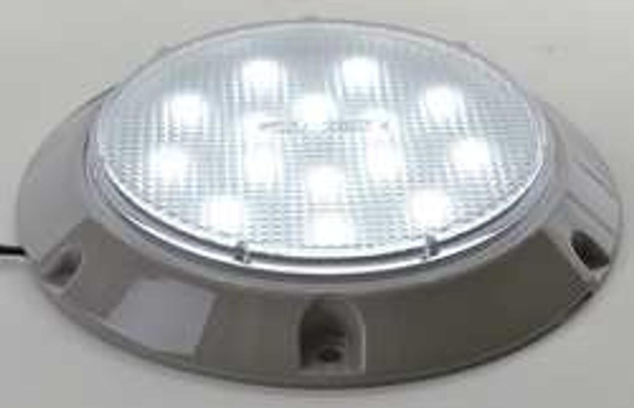 Low profile ceiling led light