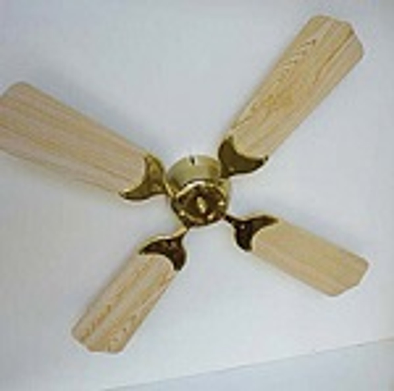 Wood grain colored blades