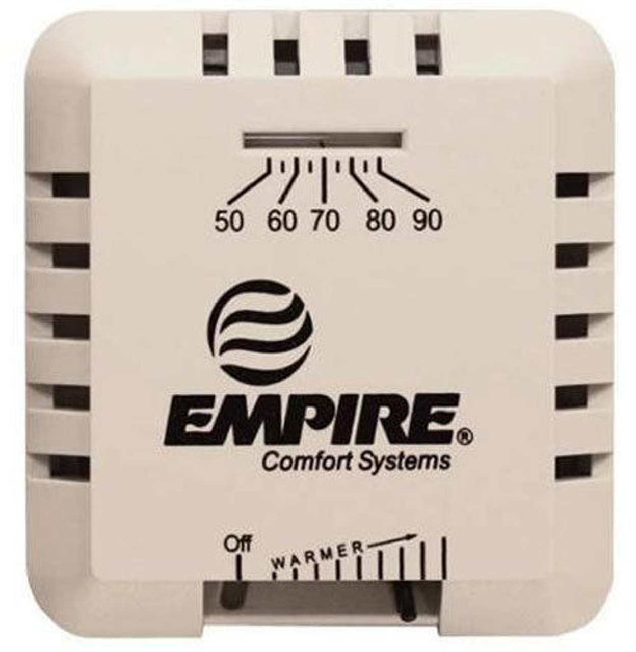 Empire wall mounted thermostat