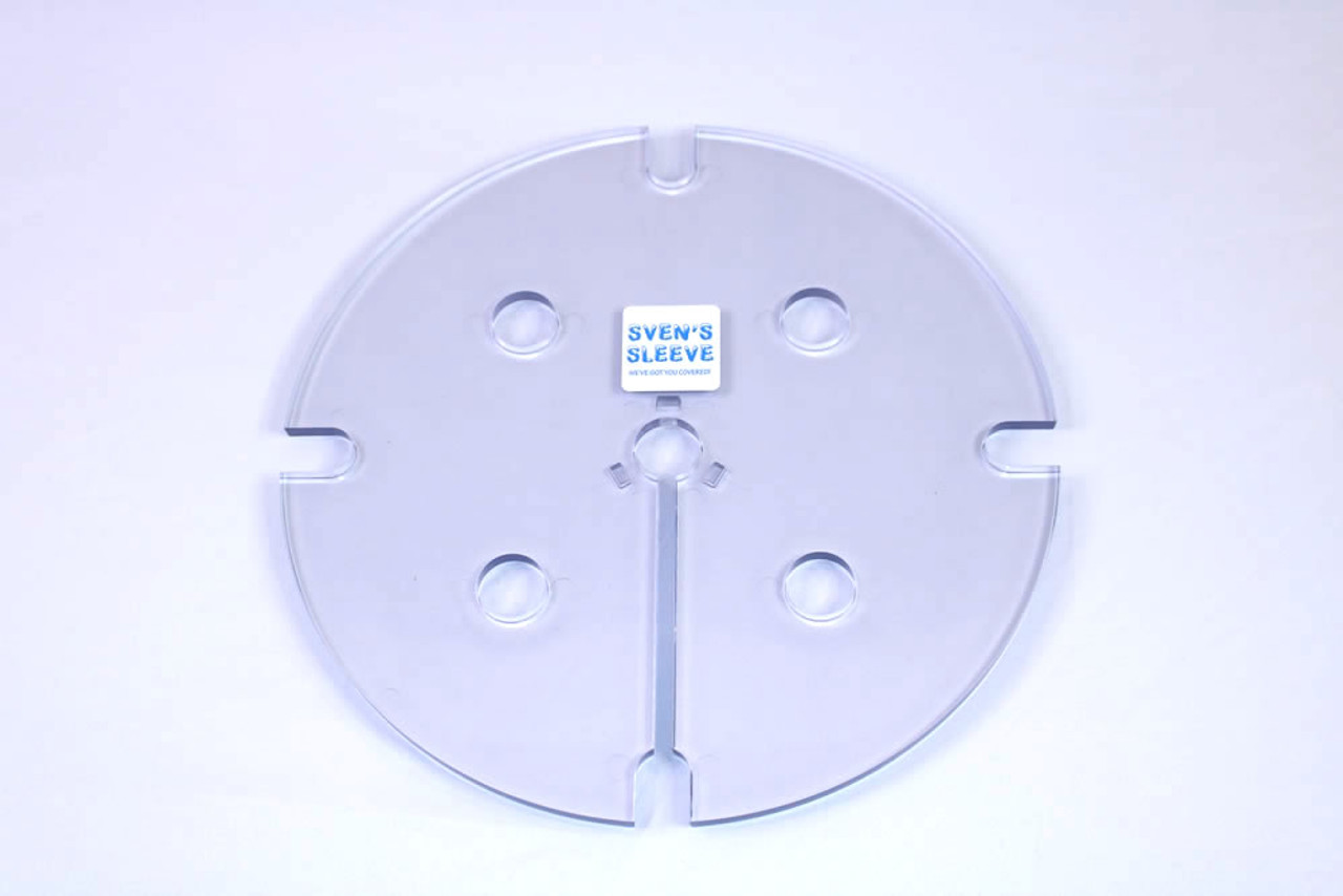 PICTURE OF THE CLEAR SAFETY COVER