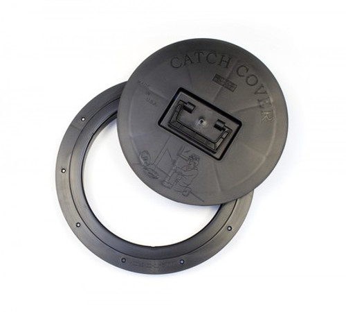 Catch Cover Round Hole Covers includes snap down cover and mounting ring