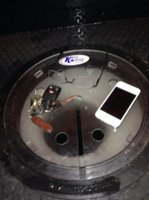 Helps protect your valuables from going down the Ice fishing Holes