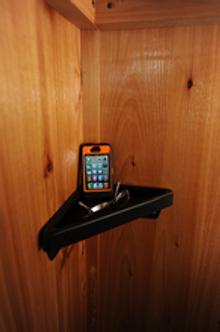 Nice spot to put your cell phone and Glasses or remote control for your TV!