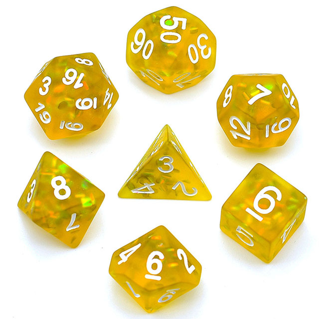 TTRPG Details about  /Matte Frosted Blue Mermaid Scales Sparkle Resin Polyhedral D/&D Dice Set