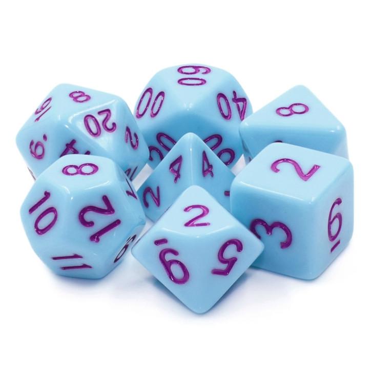 7pc Bluejay Polyhedral RPG dice set