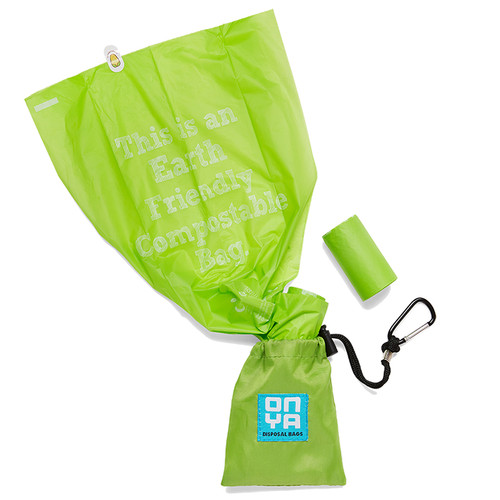 Dog Waste Disposal Bags and Carry Pouch - Disposal Bag Apple