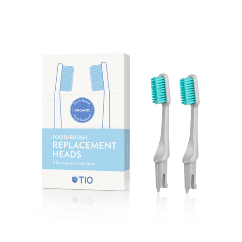Tio Toothbrush Replacement Head Pebble