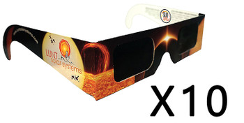 Lunt Solar Eclipse Glasses, Pack of 10 ea.