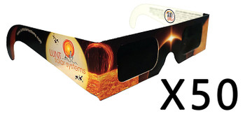 Lunt Solar Eclipse Glasses, Pack of 50 ea.