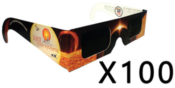 Lunt Solar Eclipse Glasses, Pack of 100 ea.