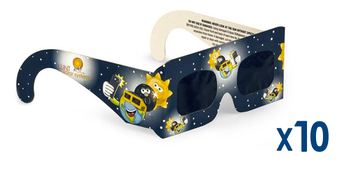 Lunt Kids Eclipse Glasses, Pack of 10 ea.
