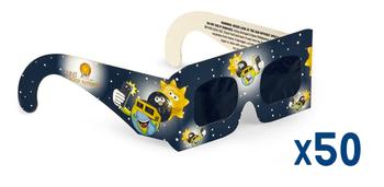 Lunt Kids Eclipse Glasses, Pack of 50 ea.