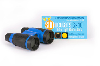 6 x 30mm White Light Binoculars, RED/BL/YEL colors (call for colors available)