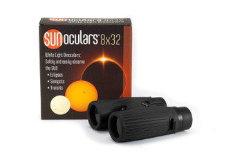 8 x 32mm White Light Binoculars, BLK