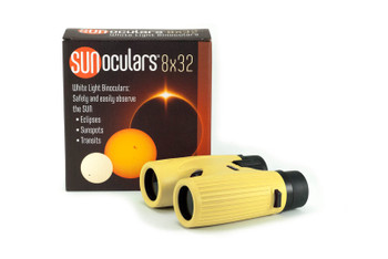 8 x 32mm White Light Binoculars, BLK/RED/BLU/YEL (call for colors available)