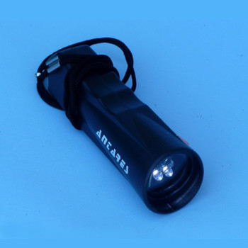 Antares Red/White LED Flashlight with variable intensity