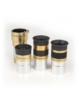 4 piece CEMAX Eyepieces In Case