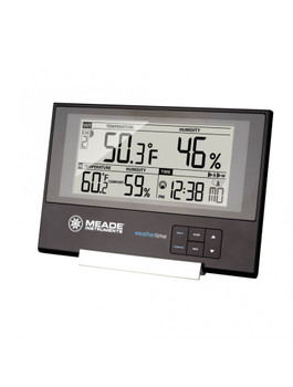 Slim Line Personal Weather Station with Atomic Clock