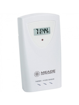 Wireless remote temperature & humidity sensor with LCD Display