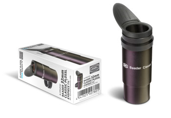 Baader Classic Plossl 32mm Eyepiece (HT multi-coated) w/ aux spacer tube and winged eyecup