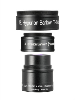 Hyperion Zoom Barlow 2.25X