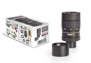 "Hyperion 8-24mm Clickstop Zoom Eyepiece MkIV, with extra 2"" thd & barrel"