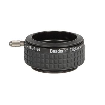 """Baader 2"""" Clicklock Clamp M54e for Celestron/SkyWatcher Newtonians (has external M54 thread)"""