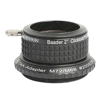 "Baader 2"" Clicklock Clamp for Takahashi (external M72 Thread)"