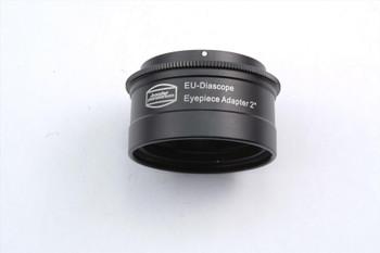 "Diascope Bayonet 2"" Ocular Adapter to fit all Zeiss made Diascope eyepieces onto 2"" telescopes."