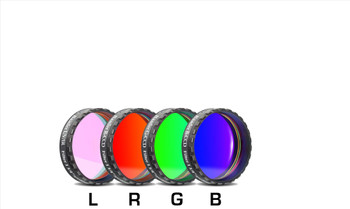 """Baader RGB Filter Set 1 1/4"""" with UV/IR Cut L-Filter (Optically Polished, with LPFC)"""