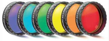 "Eyepiece Filter Set 1.25"" 6 Colors"