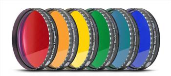 "Eyepiece Filter Set 2"" 6 Colors (optically polished) w/MC"