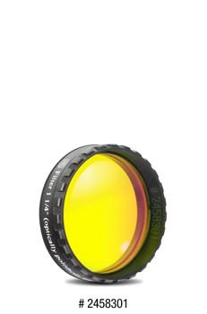 Baader Planetarium Eyepiece Filter Yellow 1.25in, 495nm Longpass, Optically Polished w/MC
