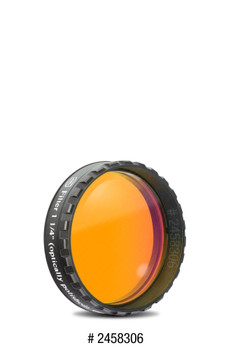 "Eyepiece Filter Orange 1.25"", 570nm Longpass, Optically Polished w/MC"